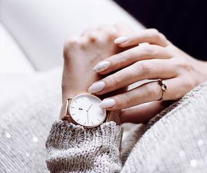 cozy, rose gold, and fashion image