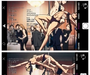 anime, funny, and ice skating image