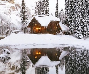 beautiful, house, and winter image