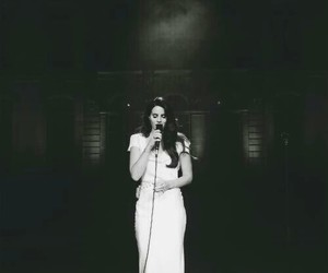 lana del rey, beautiful, and black and white image