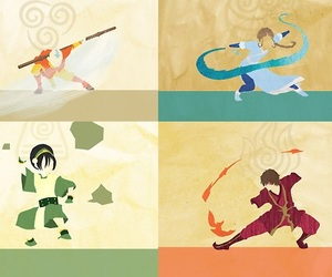 avatar, aang, and zuko image