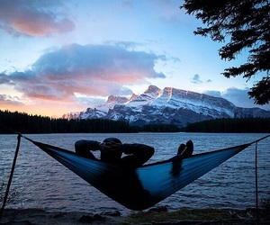 nature, mountains, and relax image