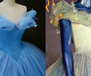 ball, blue, and cinderella image