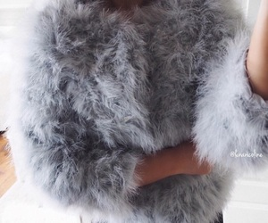 fashion, faux, and fur image