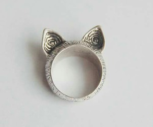 ring, cat, and cool image