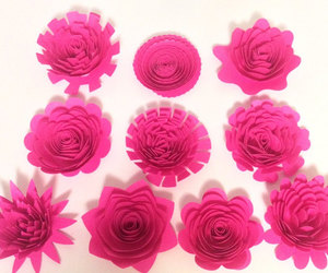 etsy, large paper flowers, and always in blossom image