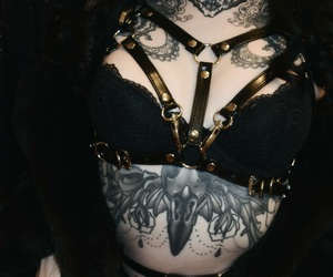 fashion, alternative, and tattoo image