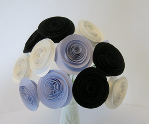 etsy, paper flowers, and bride to be image
