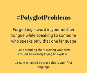 funny, languages, and polyglot image