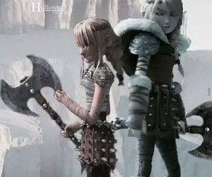 httyd and astrid hofferson image