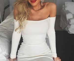 girl, luxury, and make up image