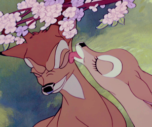 bambi, disney, and aesthetic image