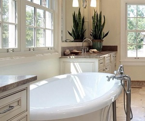 bathroom, pretty, and spacious image