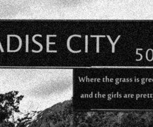 paradise city, Guns N Roses, and paradise image