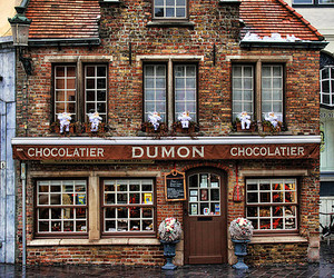 architecture and chocolate image