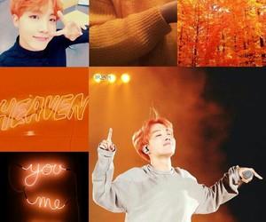aesthetics, orange, and j-hope image