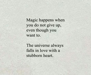 quotes, magic, and love image
