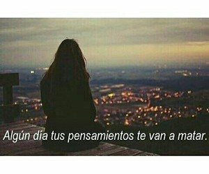 frases, triste, and español image