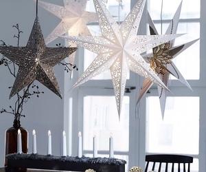 christmas, home, and stars image