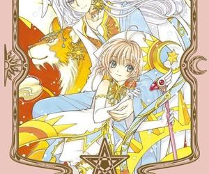 sakura, keroberos, and yue image