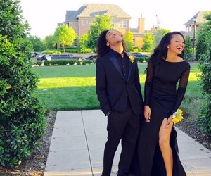 couple, goals, and Prom image