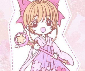 anime, sakura, and card captor sakura image