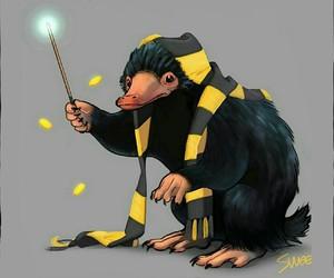niffler, harry potter, and fantastic beasts image