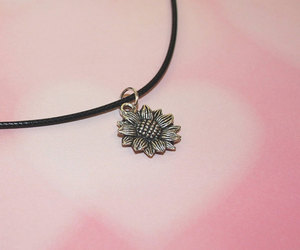 90s, childhood, and daisy necklace image