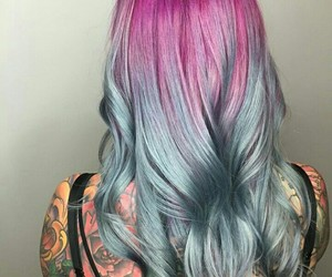 tattoo, hair color, and beautiful image
