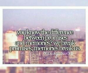 broken, memories, and promises image