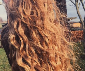 beautiful, cold, and curls image
