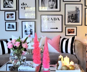black and white, girly, and candles image