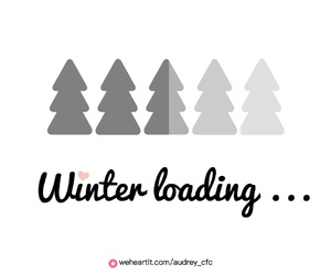 winter, background, and inspiration image