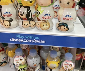 disney, water bottle, and tsumtsum image