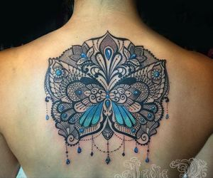 lacy, mandala, and tattoo image