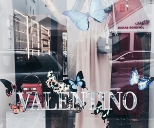 Valentino, theme, and butterfly image