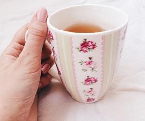 cup, mug, and nails image