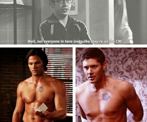 dean winchester, funny, and glee image