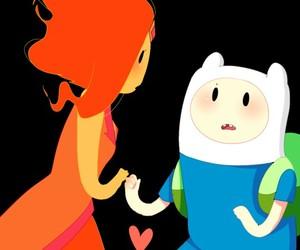 aventure time, hora de aventura, and princess flame image