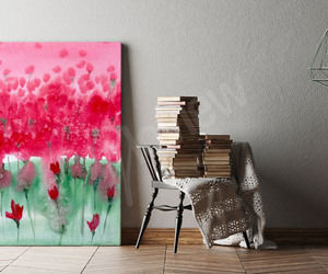 art, canvas, and home decor image