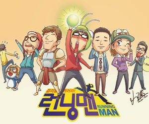 running man and kim jong kook image