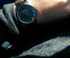 accessories, black, and women watch image