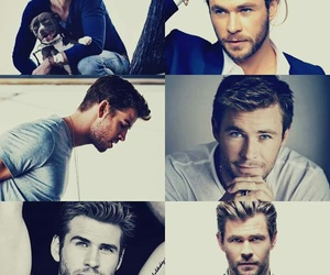 chris hemsworth and liam hemsworth image