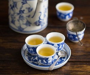 cup, green tea, and japanese food image