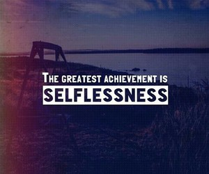 motivational quotes and selflessness image