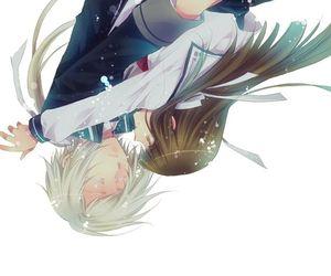 anime, couple, and love image