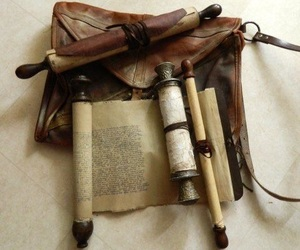 scrolls, aesthetic, and fantasy image