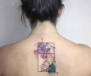 ink, tattoo, and tattoo art image