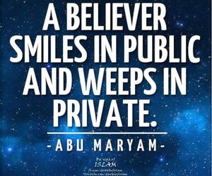 islam, allah, and smile image