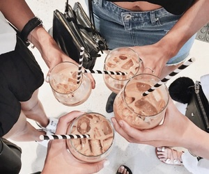 coffee and iced latte image